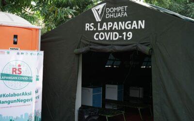 RS Lapangan Covid-19 Dompet Dhuafa Bantu Penanganan Pasien Covid-19 di RSUD Kebayoran Lama