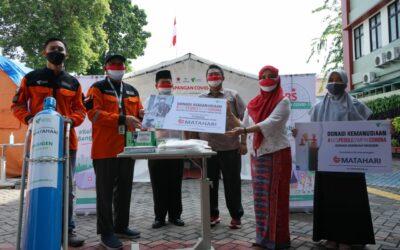 Salurkan Donasi Oksigen dan APD, Dompet Dhuafa Bersama Matahari Group Sekaligus Resmikan RS Lapangan Matraman